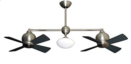 Metropolitan-Modern-Double-Ceiling-Fan-in-Satin-Nickel-
