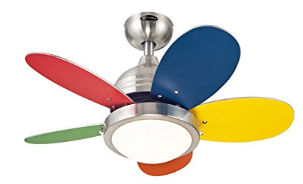 Westinghouse-Roundabout-Brushed-Nickel-Kids-Fan