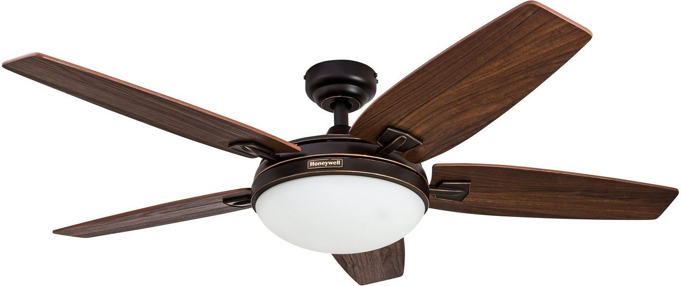 Honeywell Carmel 48 Inch Ceiling Fan With Integrated Light