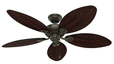 Hunter 54098 Palm Leaf Ceiling Fan