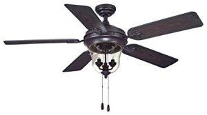 """Lanyard 52"""" Oil Rubbed Bronze Fan"""