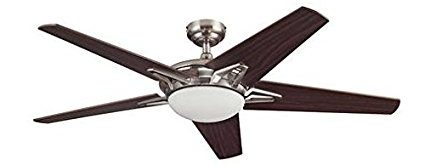 "Midori 52"" Brushed Nickel Fan"