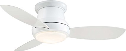 Minka Aire Ceiling Fan Simple White