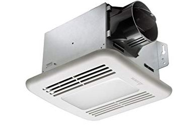 Delta BreezGreenBuilder GBR80LED 80 CFM Exhaust Bath FanDimmable LED Light