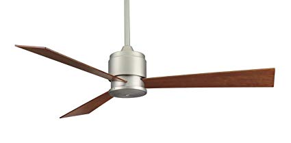 Fanimation-Zonix---54-inch---Satin-Nickel-with-CherryWalnut-Reversible-Blades-and-Wall-Control