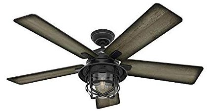 Hunter-54-Coral-Gables-Reversible-Burnished-weathered-Gray-Pine-Blades-Remote-Controlled-Ceiling-Fan