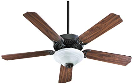 Quorum International Capri Alabaster Ceiling Fan