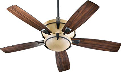 Quorum Mendocino 52 3 Light Ceiling Fan