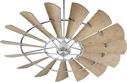 Quorum Windmill Weathered Oak Blades