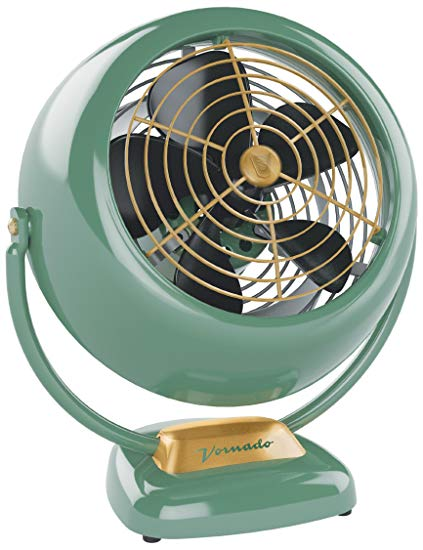 Vornado-VFAN-Vintage-Air-Circulator-Fan,-Green