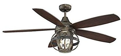 Farmhouse And Rustic Ceiling Fans Thetechyhome
