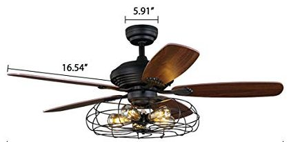 "industrial 42"" ceiling fan"