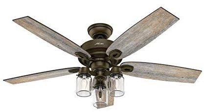 Mason Jar Ceiling Fan