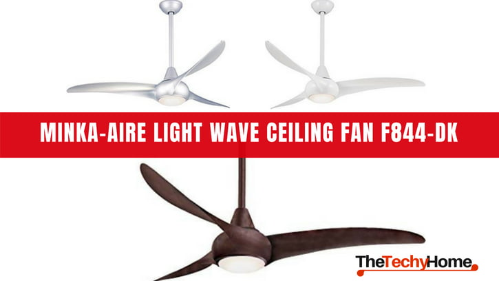 Minka Aire Light Wave Ceiling Fan F844 Dk Review