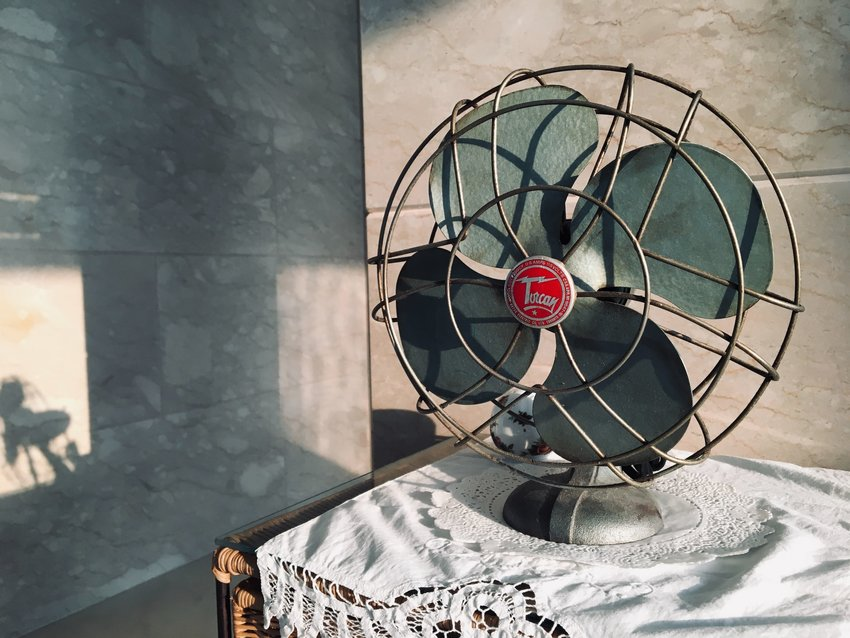 How to clean cooling fans