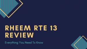 Rheem-RTE13